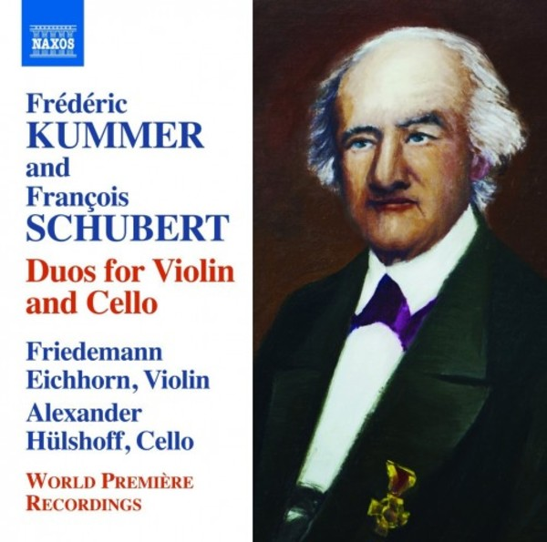Frederic Kummer & Francois Schubert - Duos for Violin & Cello | Naxos 8573000