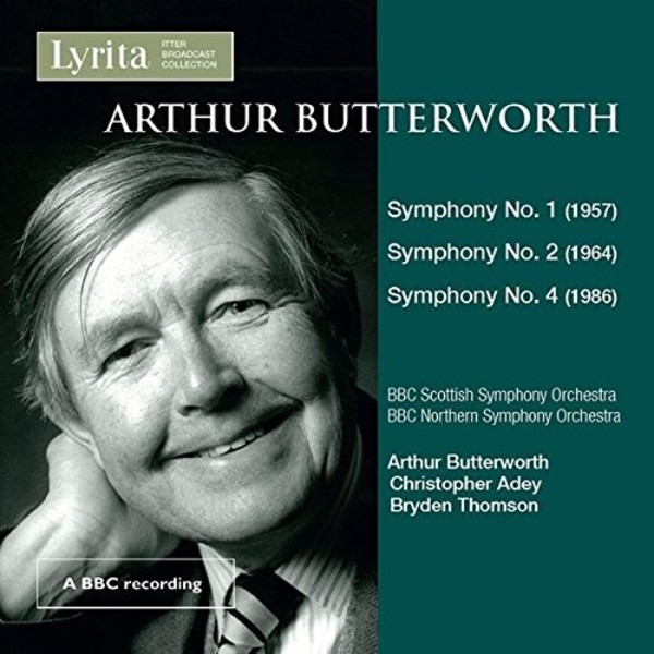 Butterworth - Symphonies 1, 2 & 4 | Lyrita REAM1127