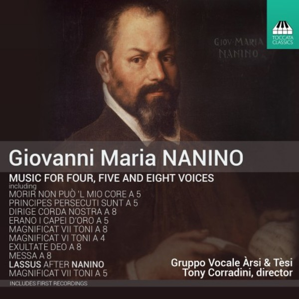Giovanni Maria Nanino - Music for Four, Five and Eight Voices | Toccata Classics TOCC0235