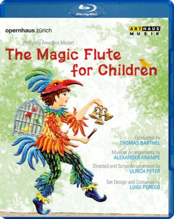 Mozart - The Magic Flute for Children (Blu-ray) | Arthaus 109264