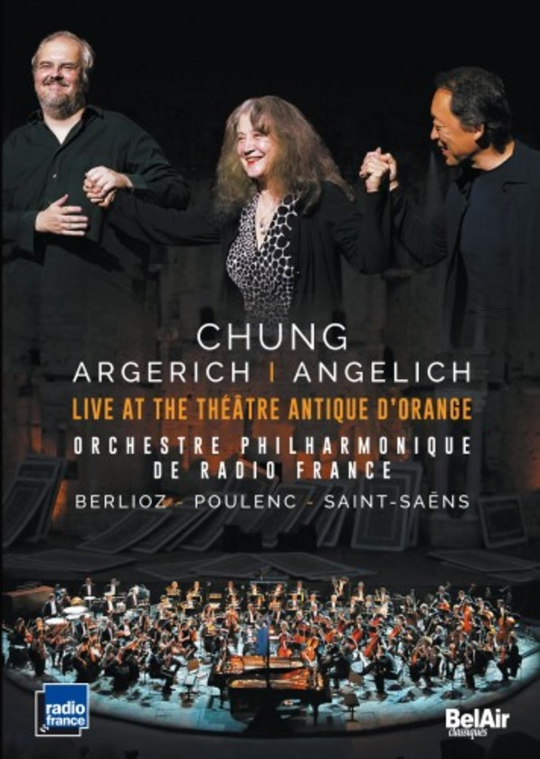 Chung, Argerich, Angelich: Live at the Theatre Antique d'Orange (DVD) | Bel Air BAC132