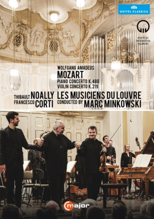 Marc Minkowski at Mozartwoche (DVD) | C Major Entertainment 736708