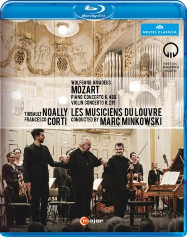 Marc Minkowski at Mozartwoche (Blu-ray) | C Major Entertainment 736804