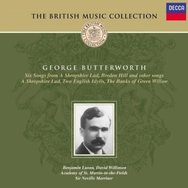 Butterworth: A Shropshire Lad; The Banks of Green Willow, etc. | Decca 4688022