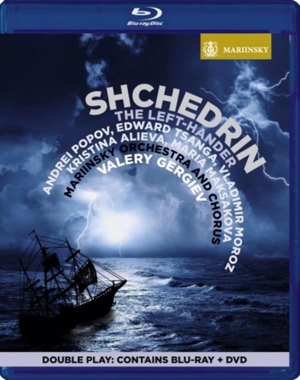 Shchedrin - The Left-Hander (Blu-ray + DVD)