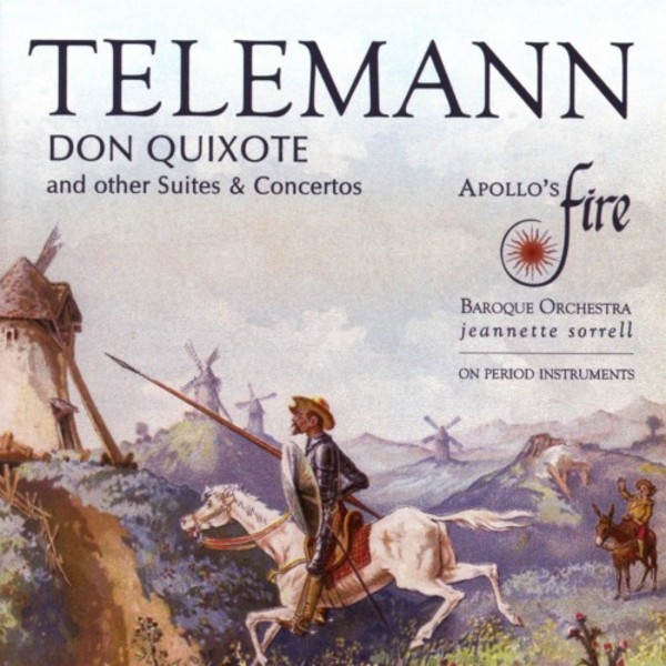 Telemann - Don Quixote & other Suites & Concertos | Avie AV2353