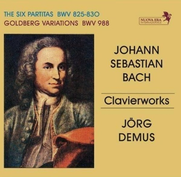 JS Bach - Six Partitas, Goldberg Variations | Nuova Era 234230