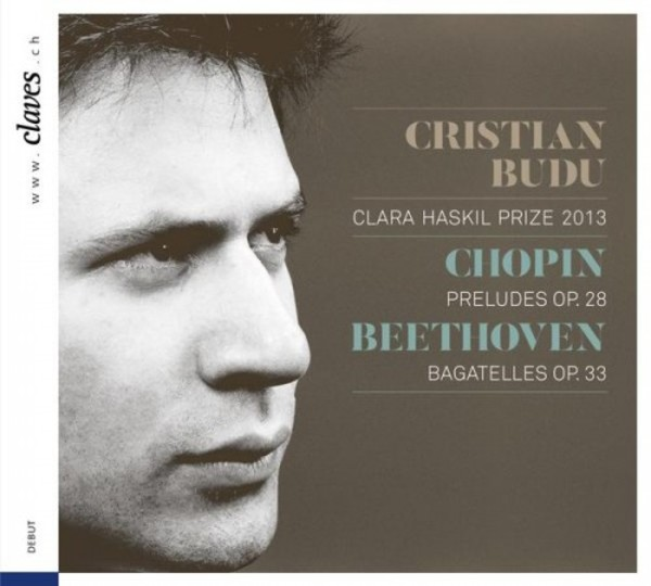 Cristian Budu plays Chopin and Beethoven | Claves 501602