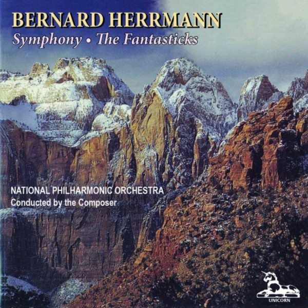 Bernard Herrmann - Symphony, The Fantasticks | Unicorn Kanchana UKCD2063