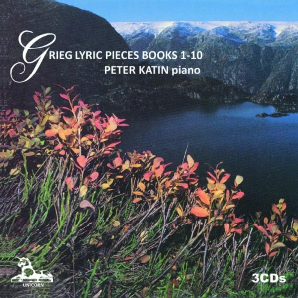 Grieg - Lyric Pieces Books 1-10 | Unicorn Kanchana UKCD20335