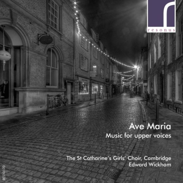 Ave Maria: Music for upper voices | Resonus Classics RES10170