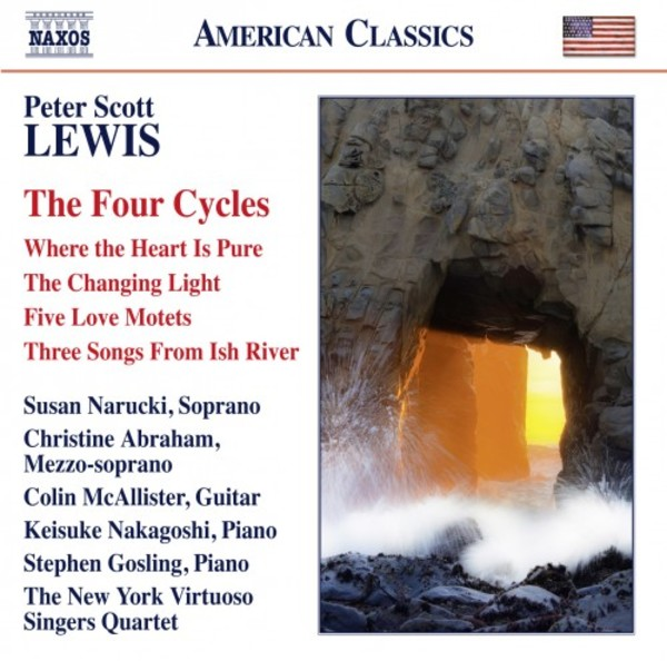 Peter Scott Lewis - The Four Cycles | Naxos - American Classics 8559815