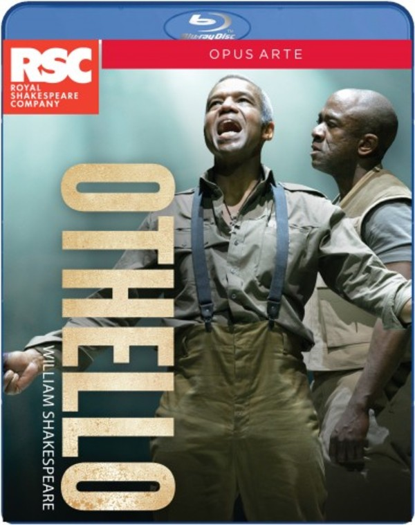 Shakespeare - Othello (Blu-ray) | Opus Arte OABD7161D