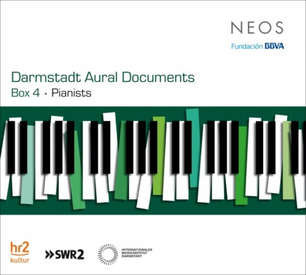 Darmstadt Aural Documents Box 4: Pianists | Neos Music NEOS11630