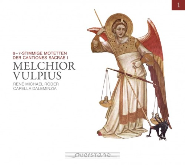 Melchior Vulpius Edition Vol.1: 6- & 7-voice Motets from Cantiones Sacrae I | Querstand VKJK1523