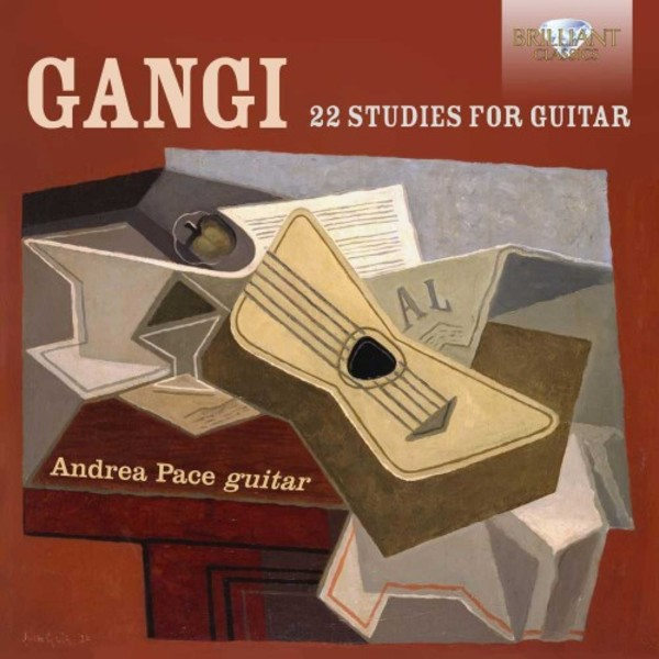 Gangi - 22 Studies for Guitar | Brilliant Classics 95204