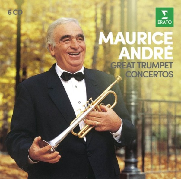 Maurice Andre plays Great Trumpet Concertos | Warner 9029597494