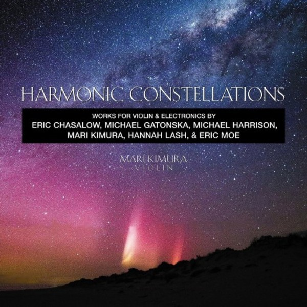 Harmonic Constellations - Works for Violin & Electronics | New World Records NW80776