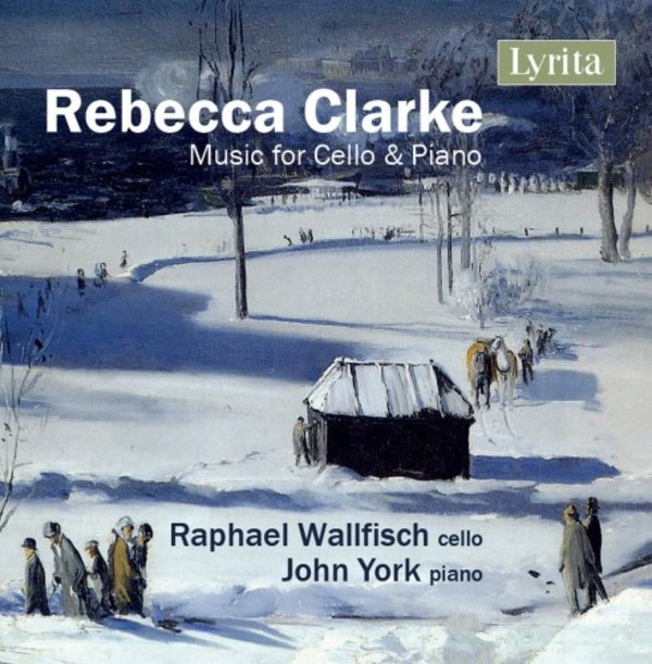 Rebecca Clarke - Music for Cello & Piano | Lyrita SRCD354