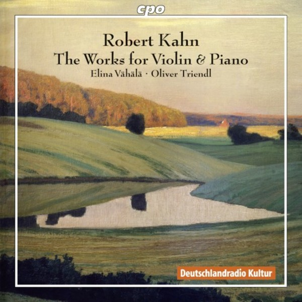 Kahn - Works for Violin & Piano | CPO 7777852