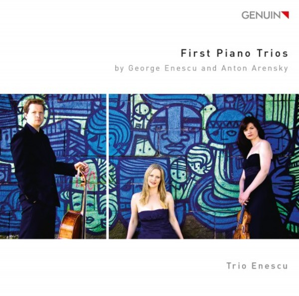 First Piano Trios by Enescu & Arensky | Genuin GEN16447