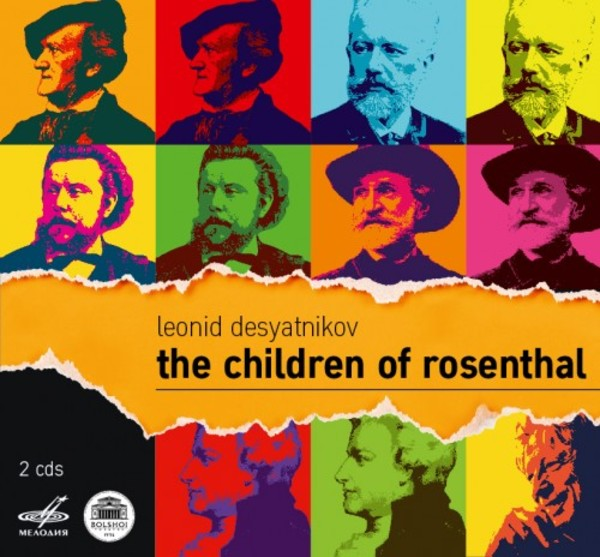 Desyatnikov - The Children of Rosenthal | Melodiya MELCD1002432