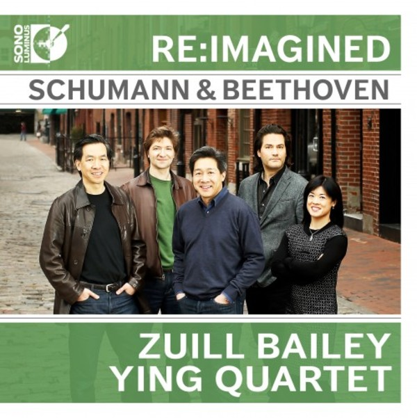 Re:imagined: Schumann & Beethoven for Cello Quintet | Sono Luminus DSL92204