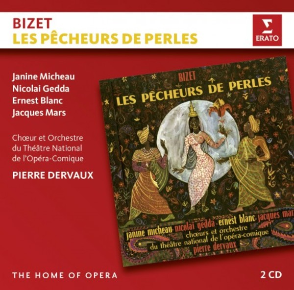 Bizet - Les Pecheurs de perles | Erato - The Home of Opera 9029593481