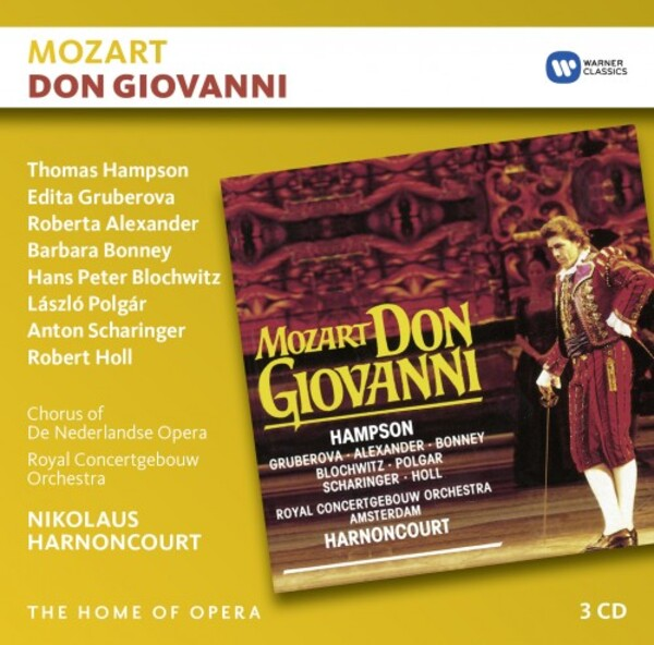 Mozart - Don Giovanni | Warner - The Home of Opera 9029593479