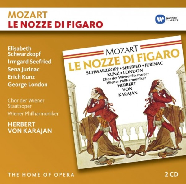 Mozart - Le nozze di Figaro | Warner - The Home of Opera 9029593482