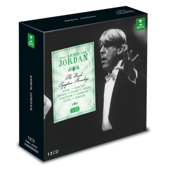 Armin Jordan: The French Symphonic Recordings | Warner - Icon 9029595353