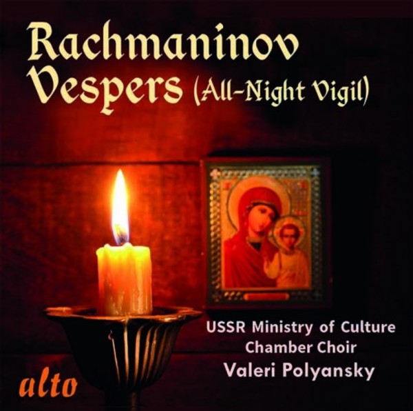 Rachmaninov - Vespers (All-Night Vigil) | Alto ALC1315