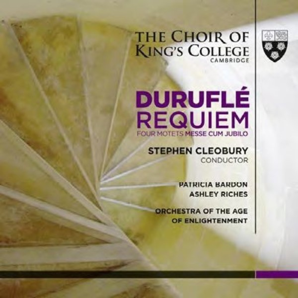 Durufle - Requiem, Messe cum jubilo, Four Motets | Kings College Cambridge KGS0016