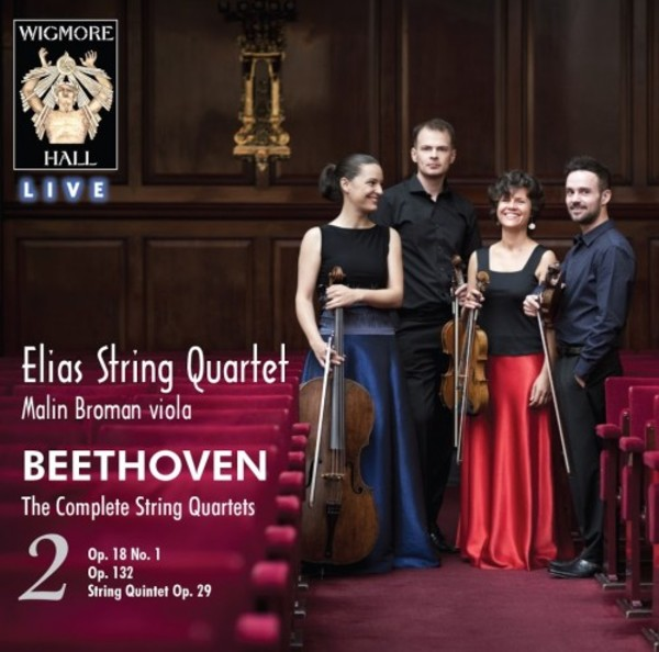 Beethoven - The Complete String Quartets Vol.2, String Quintet op.29 | Wigmore Hall Live WHLIVE00852