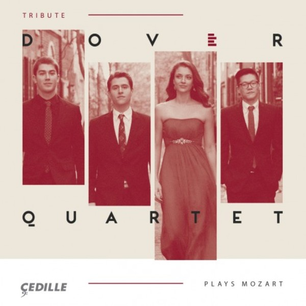 Dover Quartet plays Mozart | Cedille Records CDR90000167