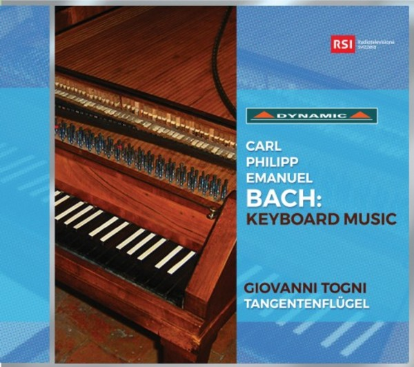 CPE Bach - Keyboard Music | Dynamic CDS7762