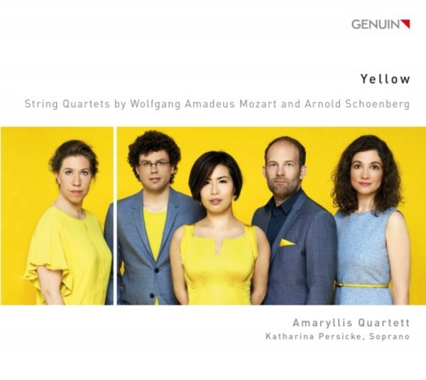 Yellow: String Quartets by Mozart & Schoenberg | Genuin GEN16438