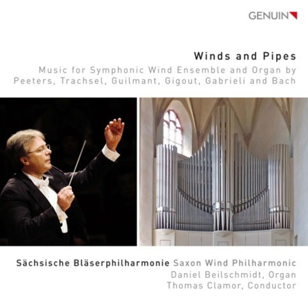 Winds & Pipes: Music for Symphonic Wind Ensemble & Organ | Genuin GEN16445