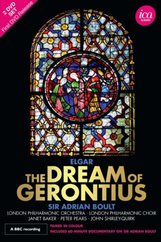 Elgar - The Dream of Gerontius (DVD) | ICA Classics ICAD5140