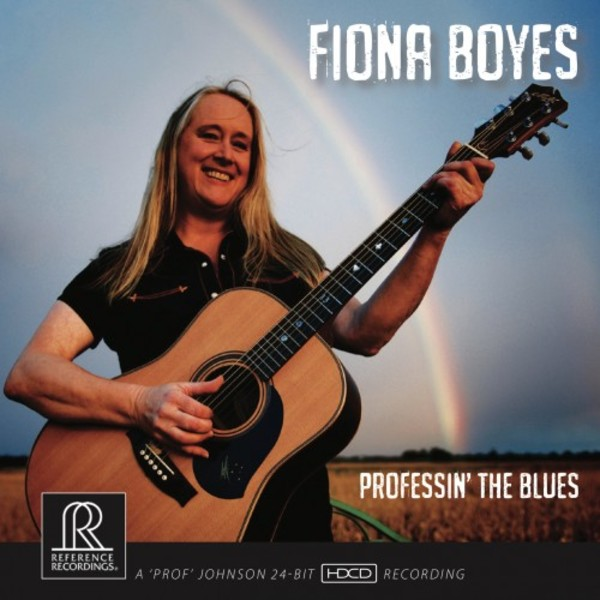 Fiona Boyes: Professin' the Blues | Reference Recordings RR140