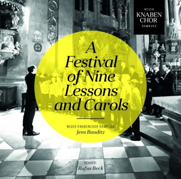 Neuer Knabenchor Hamburg: A Festival of Nine Lessons and Carols | Rondeau ROP6125