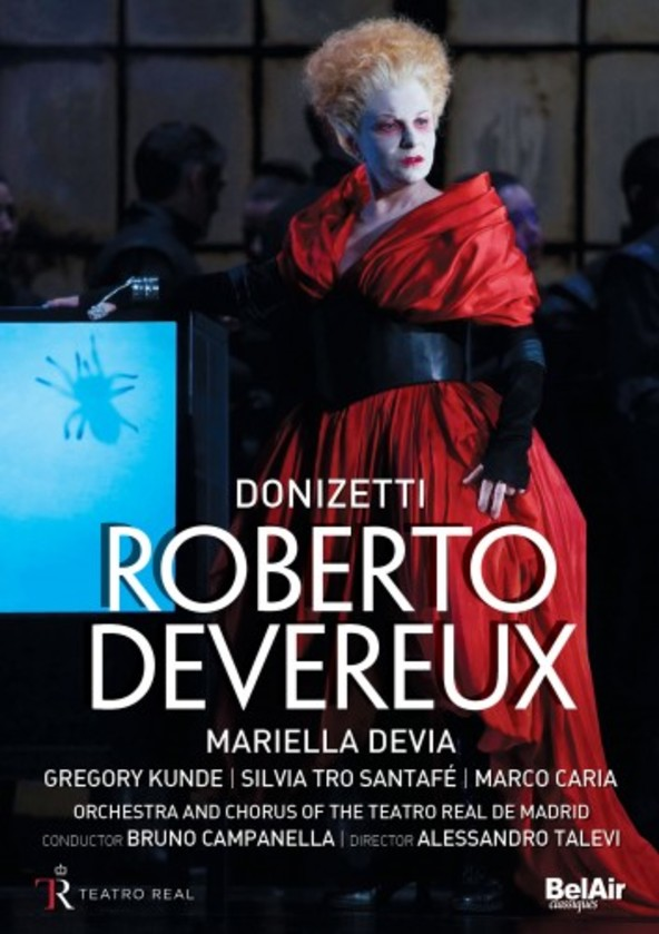 Donizetti - Roberto Devereux (DVD) | Bel Air BAC130