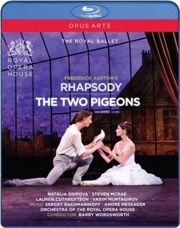 Ashton - Rhapsody, The Two Pigeons (Blu-ray) | Opus Arte OABD7180D
