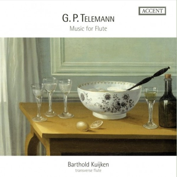 Telemann - Music for Flute | Accent ACC24322
