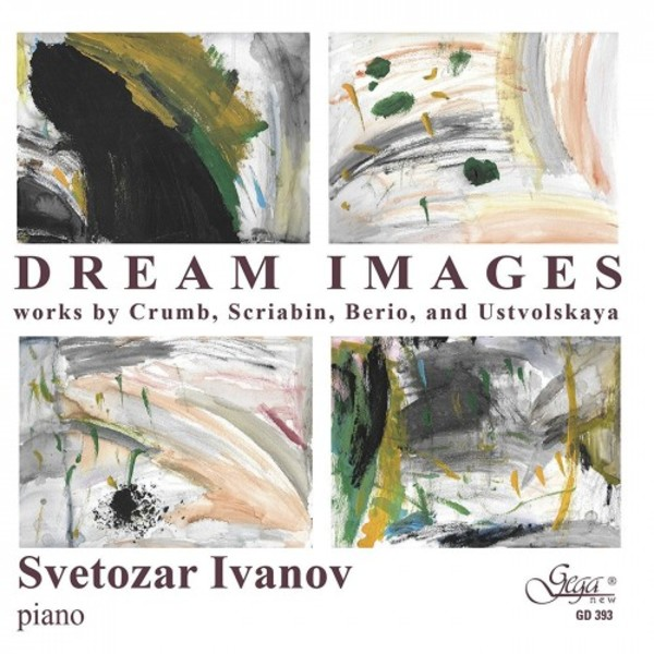 Dream Images: Works by Crumb, Scriabin, Berio & Ustvolskaya | Gega New GD393