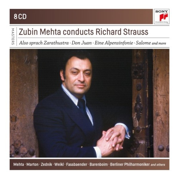 Zubin Mehta conducts Richard Strauss | Sony - Classical Masters 88985328992