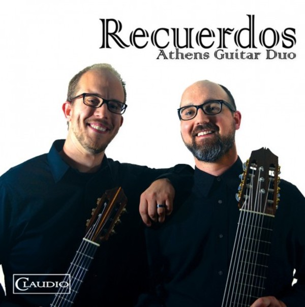 Recuerdos: Athens Guitar Duo (DVD-Audio) | Claudio Records CR60376