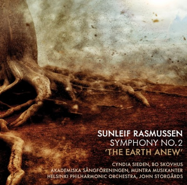 Sunleif Rasmussen - Symphony no.2 'The Earth Anew' | Dacapo 8226175