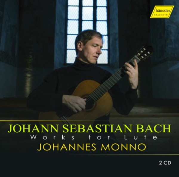JS Bach - Works for Lute | Haenssler HC16085