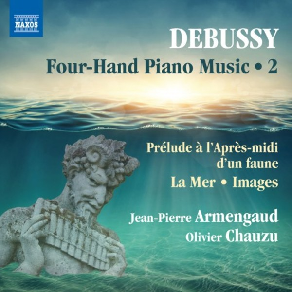 Debussy - Four-Hand Piano Music Vol.2 | Naxos 8573463